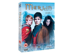 Merlin Season 5 Volume 1 DVD pack shot