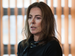 Director Kathryn Bigelow on the set of &#39;Zero Dark Thirty&#39; 