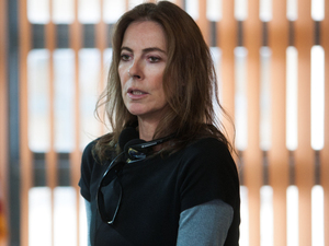 Director Kathryn Bigelow on the set of 'Zero Dark Thirty'