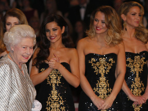 The Queen, Girls Aloud, Royal Variety Performance