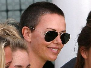 Charlize Theron, shaved head, Mad Max, South Africa