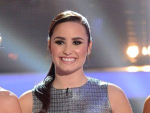 Miss Mode: Demi Lovato wears Topshop dress on X Factor USA