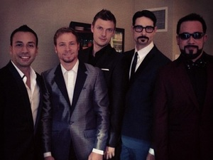 Backstreet Boys at the AMAs 19.11.12