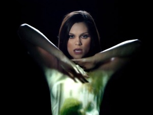 Jessie J in 'Silver Lining (Crazy 'Bout You)' music video.