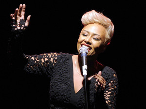 Emeli Sande performs at Kool Haus in Toronto.