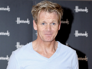 Gordon Ramsay attends a signing event for his new book &#39;Ultimate Cookery Course&#39; at Harrods, London.