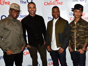 JLS at the Childline Concert 2012 held in Dublin.