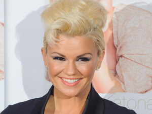 Kerry Katona at a photocall to launch her autobiography &#39;Still Standing&#39; at the Century Club, in central London