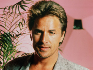 "Don Johnson as Det. James ""Sonny"" Crockett Miami Vice."
