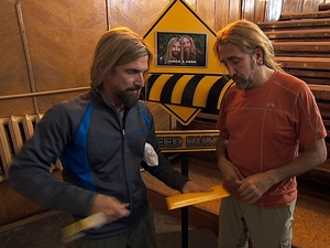 The Amazing Race 'We Was Robbed' - James and Abba
