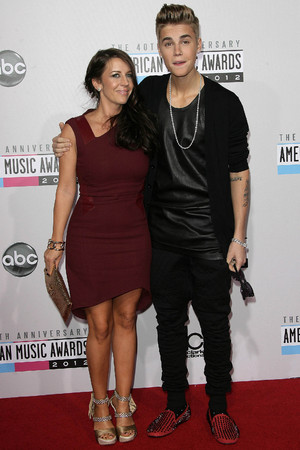 Justin Bieber and his mom Pattie Mallette