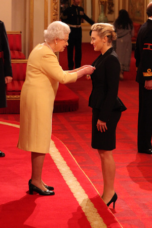 Kate Winslet, CBE, the Queen