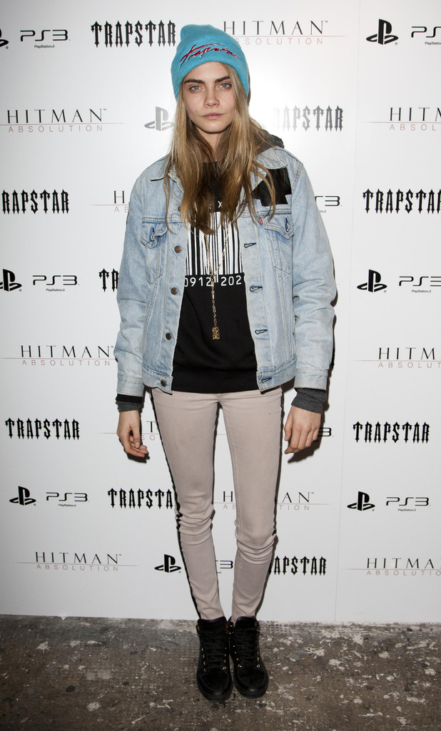 Cara Delevigne, Trapstar x Hitman party