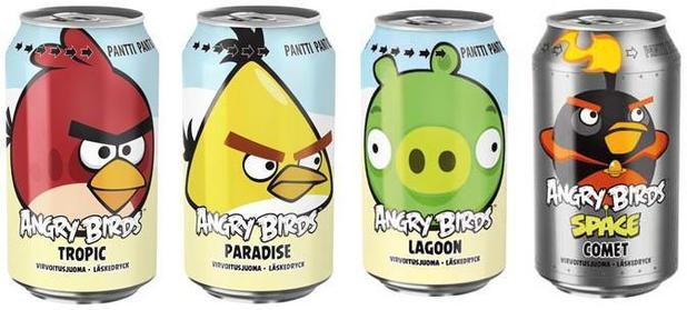 angry birds comb Angry Birds soda outsells Coca Cola and Pepsi in Finland