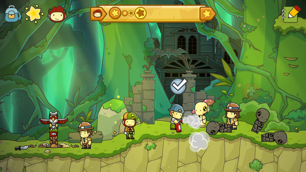 Scribblenauts Unlimited (Wii U version)
