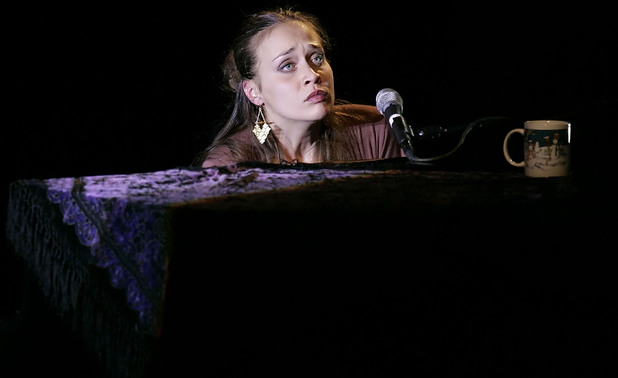 Fiona Apple performs during a concert at the Nokia Theater, Sunday, Dec. 11, 2005 