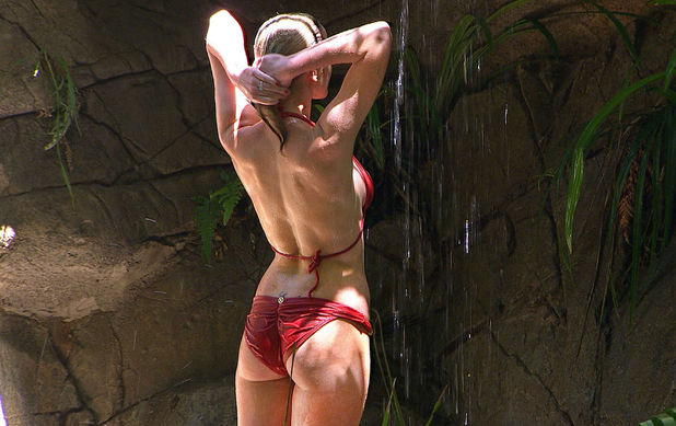 Helen Flanagan, bikini, I&#39;m a Celebrity 2012