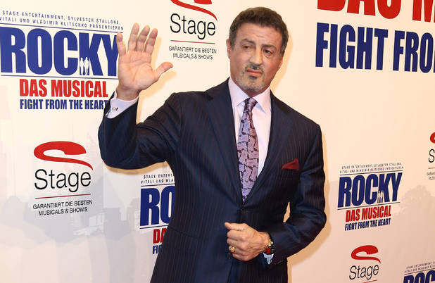 Sylvester Stallone attends the  &#39;Rocky - Das Musical: Fight from the Heart&#39; premiere, Hamburg, Germany
