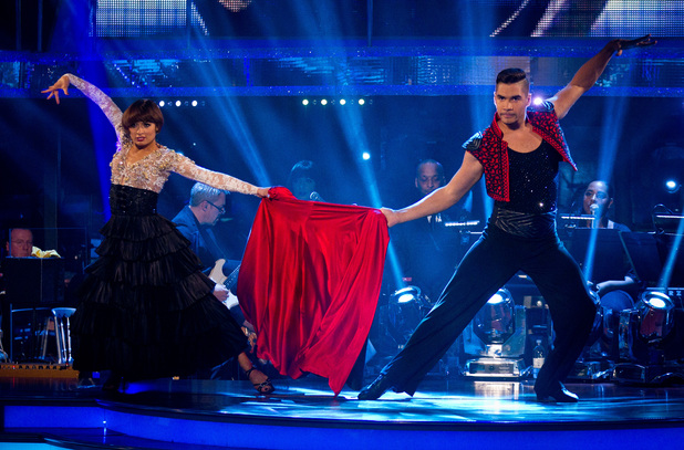 Strictly Come Dancing Week 8: Louis and Flavia.