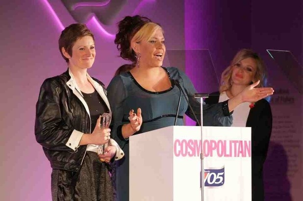 Body Gossip at the Cosmopolitan awards - Ruth Rogers, Natasha Devon, Fearne Cotton