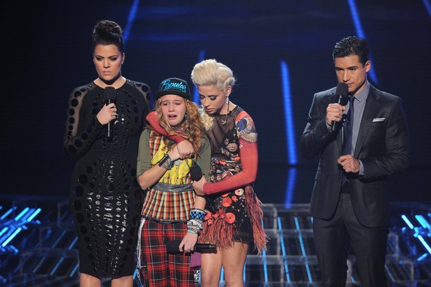 &#39;The X Factor&#39; USA: A tearful Beatrice Miller is eliminated