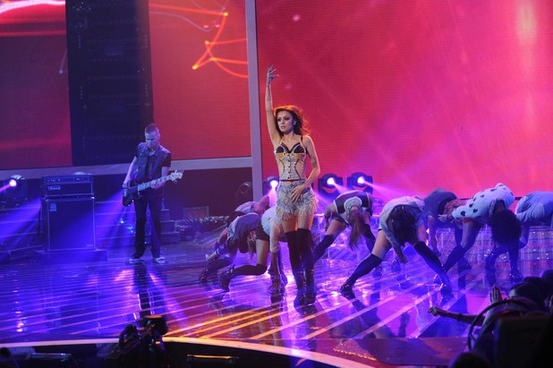 'The X Factor' USA: Cher Lloyd performs
