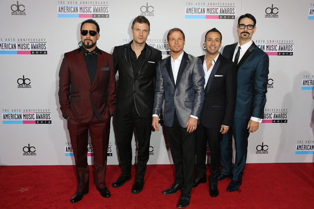 Backstreet Boys at the AMAs 2012