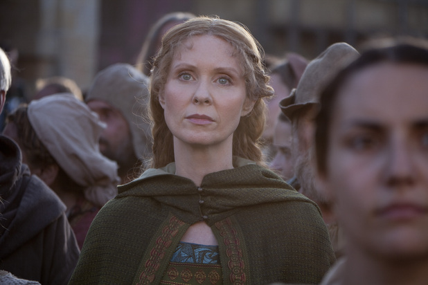Cynthia Nixon as Petranilla in 'World Without End'