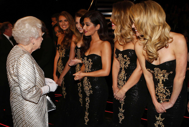 The Queen, Girls Aloud