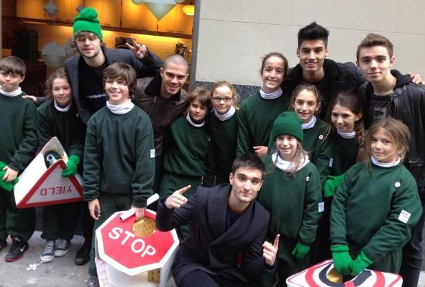 The Wanted at Macy's Thanksgiving Day Parade