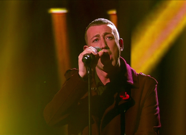 Christopher Maloney is seen performing on 'X Factor' Shown on ITV1 HDEngland - 5.11.12 Supplied by WENN.comWENN does not claim any ownership including but not limited to Copyright or License in the attached material. Any downloading fees charged by WENN are for WENN's services only, and do not, nor are they intended to, convey to the user any ownership of Copyright or License in the material. By publishing this material you expressly agree to indemnify and to hold WENN and its directors, shareholders and employees harmless from any loss, claims, damages, demands, expenses (including legal fees), or any causes of action or  allegation against WENN arising out of or connected in any way with publication of the material., Credit: WENN.com