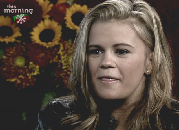 Kerry Katona seen on 'This Morning' in 2008 when she appeared confused and was slurring her words.  Shown on ITVEngland - 08.12.10 Supplied by WENN.comWENN does not claim any ownership including but not limited to Copyright or License in the attached material. Any downloading fees charged by WENN are for WENN's services only, and do not, nor are they intended to, convey to the user any ownership of Copyright or License in the material. By publishing this material you expressly agree to indemnify and to hold WENN and its directors, shareholders and employees harmless from any loss, claims, damages, demands, expenses (including legal fees), or any causes of action or  allegation against WENN arising out of or connected in any way with publication of the material.
