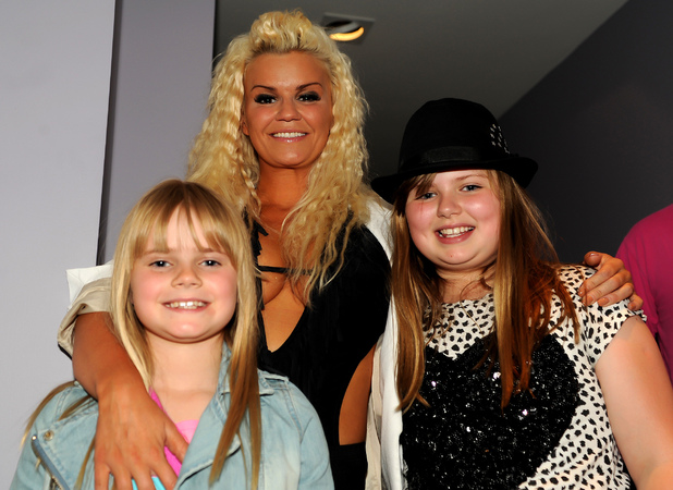 Kerry Katona and her daughters Molly Marie McFadden and Lilly-Sue McFadden Birmingham Gay Pride 2012 - Inside Birmingham, England - 02.06.12 Mandatory Credit: Anthony Stanley/WENN.com