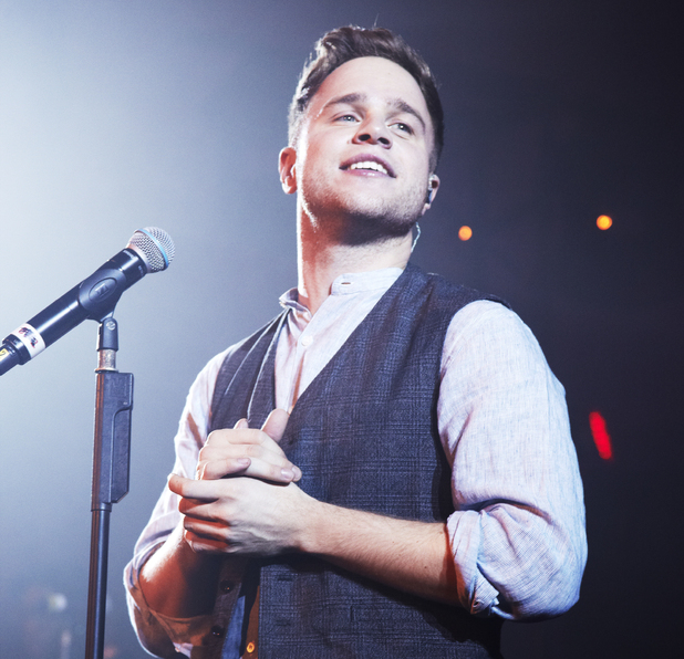 Olly Murs at Mencap charity Live Noise Sessions
