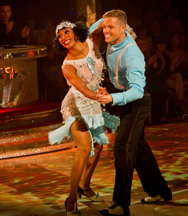 Strictly Come Dancing Week 8: Nicky and Karen.