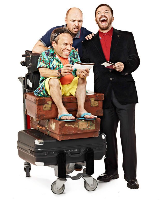 'An Idiot Abroad 3' promotional picture