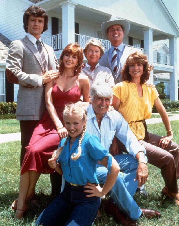 The cast of Dallas.