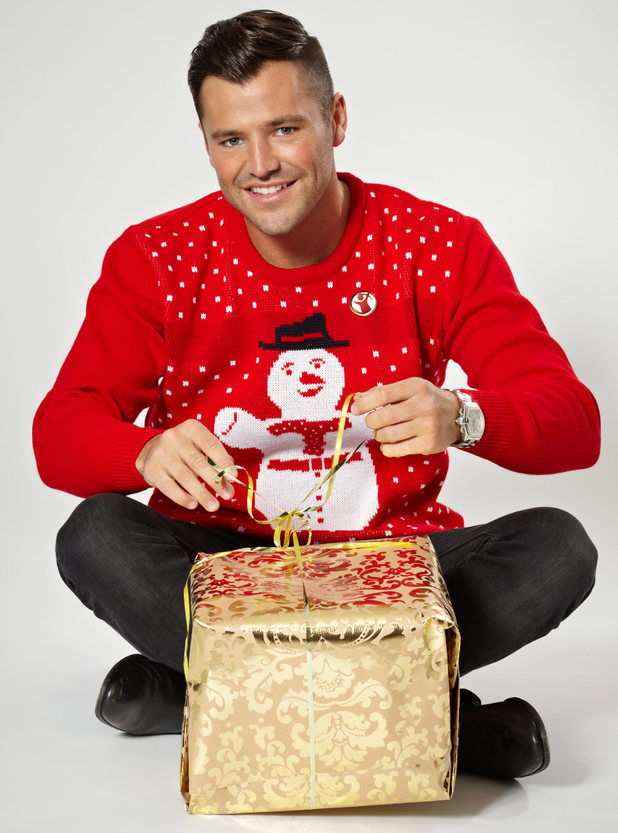 Celebs in Save the Children's Christmas Jumper Day