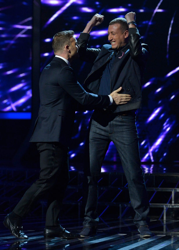 Gary Barlow and Christopher Maloney.