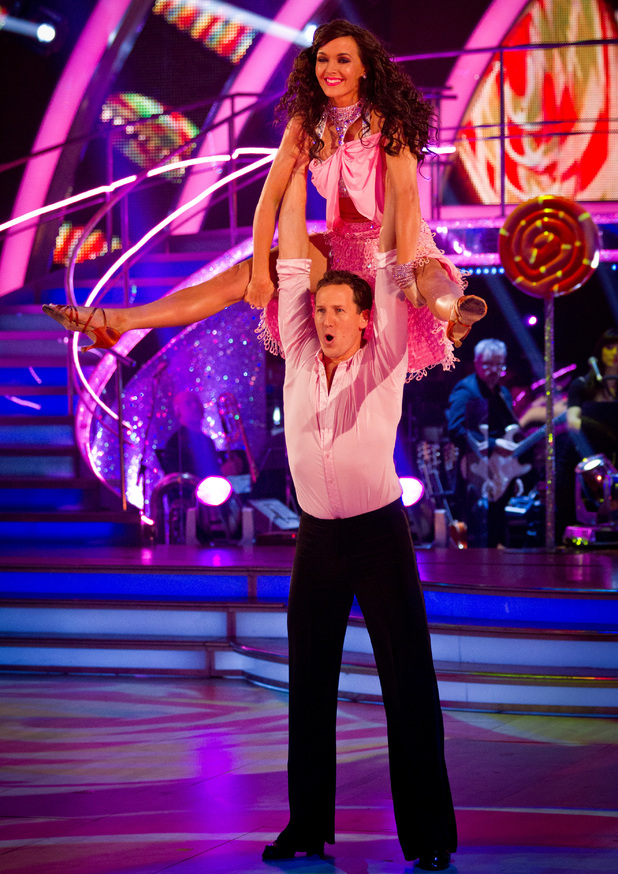 Strictly Come Dancing Week 8: Brendan and Victoria.