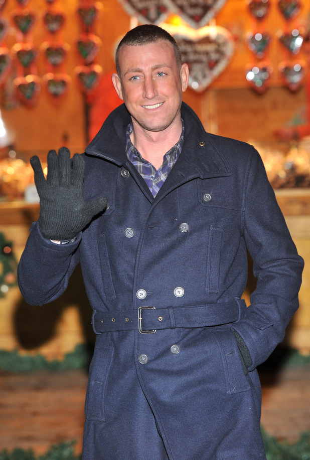 Hyde Park Winter Wonderland - launch party Featuring: Christopher Maloney London, England - 22.11.12 Where: London, England