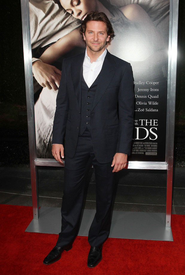 Bradley Cooper, at the premiere of CBS Films' 'The Words' at the ArcLight Cinema - Red Carpet. Hollywood, California