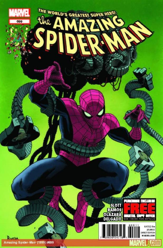 'The Amazing Spider-Man' #699 cover