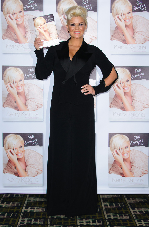 Kerry Katona launches the second volume of her autobiography, 'Still Standing: The Autobiography at the Century Club