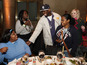 Rapper also speaks out on global hunger at 'Our Table Is Yours' event in New York.