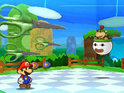 Paper Mario's first portable adventure is bogged down by a number of problems.