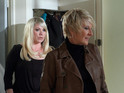 Shirley opposes Phil's plans for Lexi in EastEnders tonight.