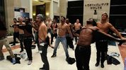 Dancers perform impromptu strip teases to celebrate the Channing Tatum movie's release on DVD and Blu-ray.