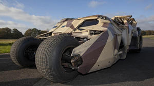 'The Dark Knight Rises': 'Top Gear' track Tumbler circuit