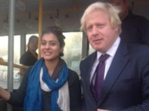 Kajol Meets Boris Johnson